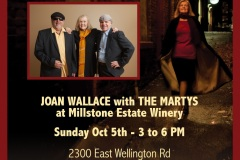 Joan Wallace & THE MARTYS - Poster