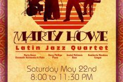Marty Howe Latin Jazz Poster